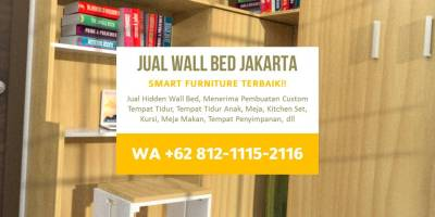 Wall Bed, Dipan Minimalis